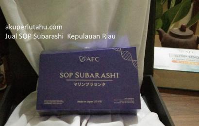 Jual SOP Subarashi Kepulauan Riau, 0821-2315-3388