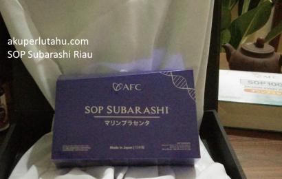 SOP Subarashi Riau, 0821-2315-3388